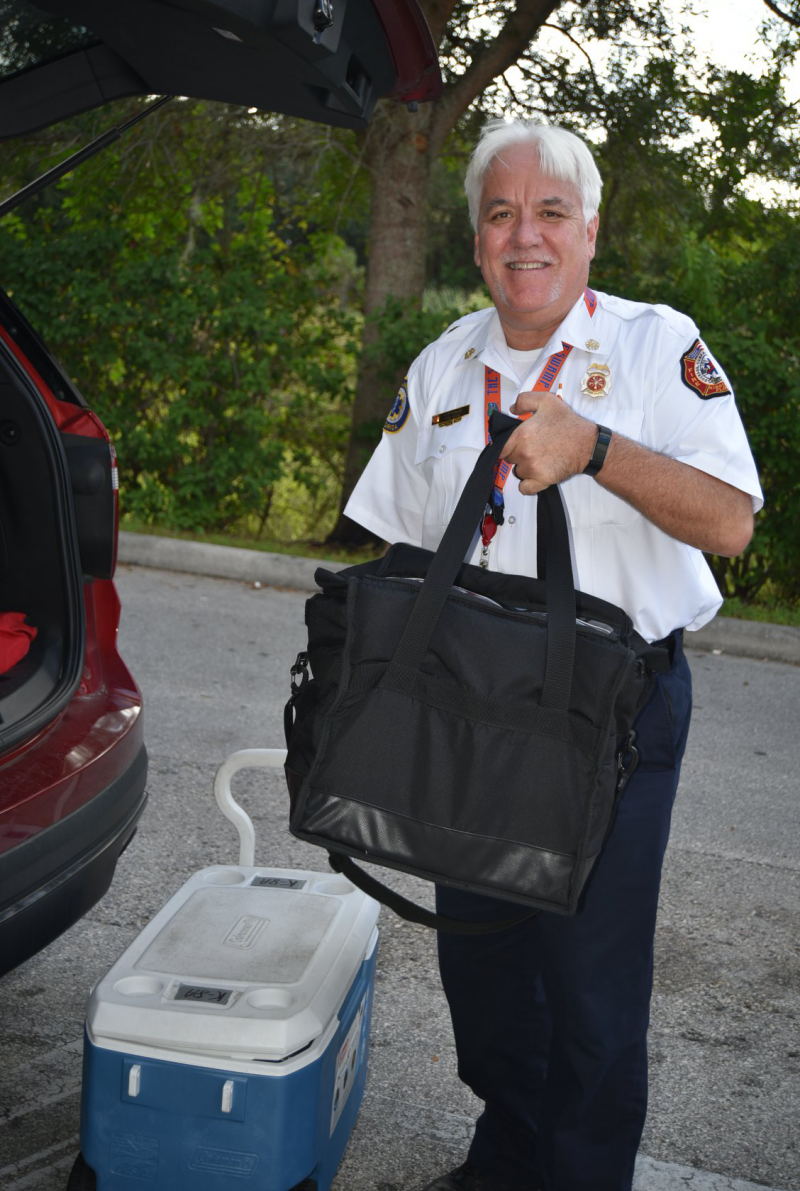 Kissimmee Fire Chief Jim Walls